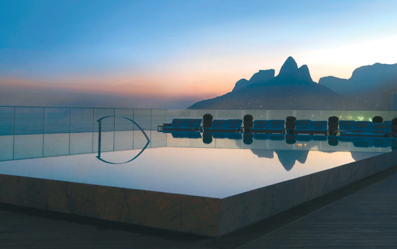 Pool Hotel Fersano Rio de Janeiro Brazil