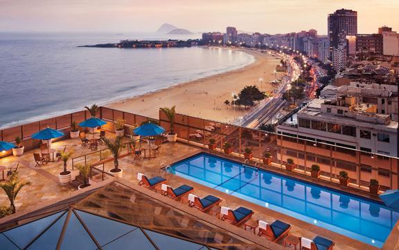 JW Marriot, Rio De Janeiro, pool & view