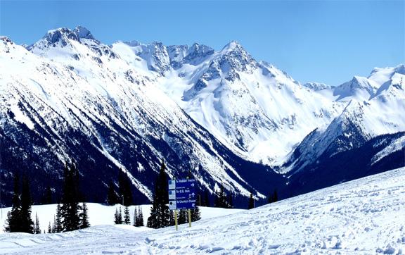 Whistler Deal, ski