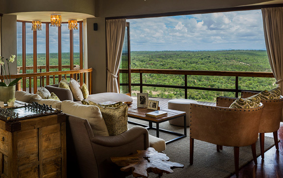 Singita Ulusabo Lodge, South Africa, Cliff Lodge