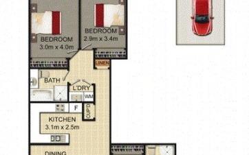 House share Alexandria, Sydney $290pw, 3 bedroom apartment