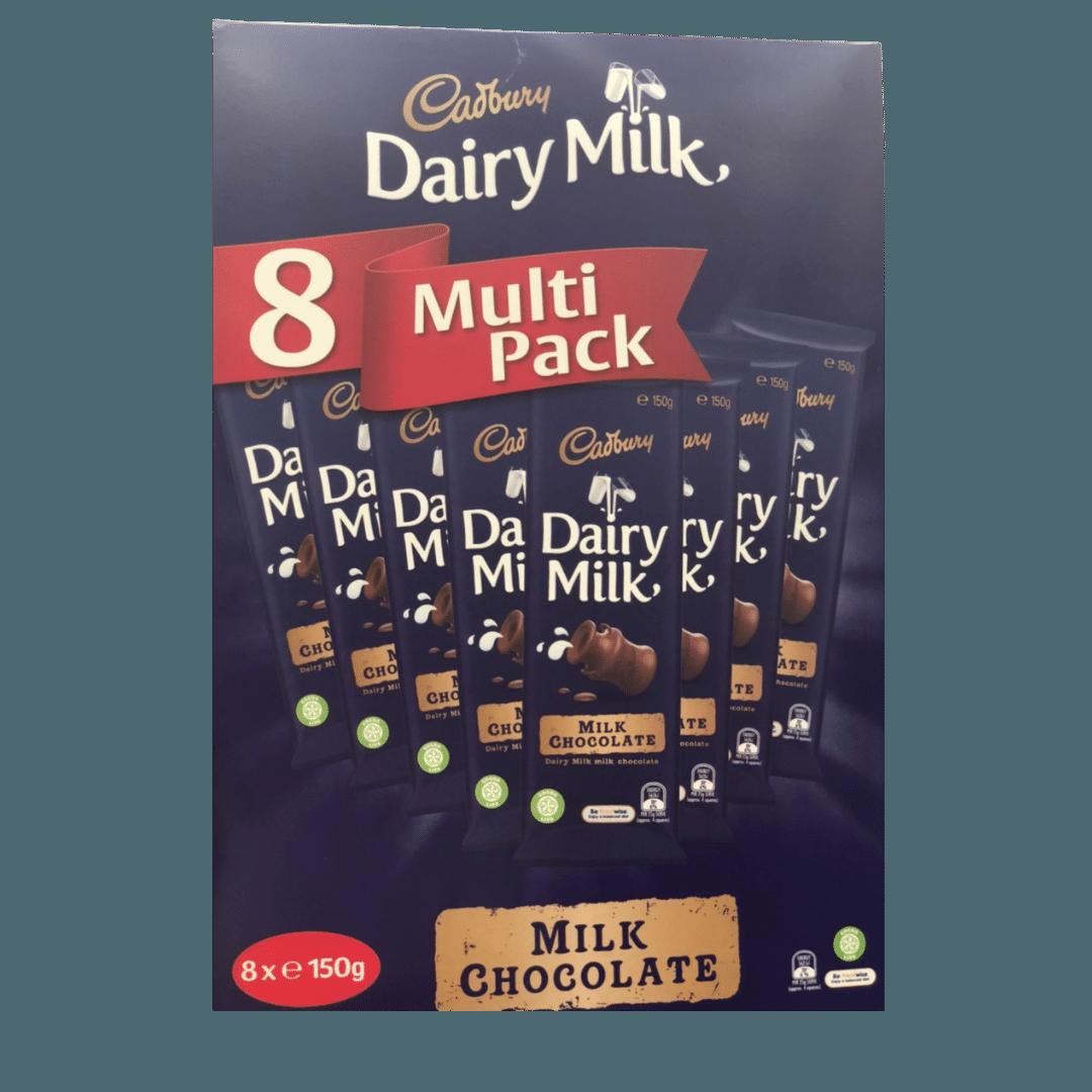 CadburyDairyMilkBlock8X150G