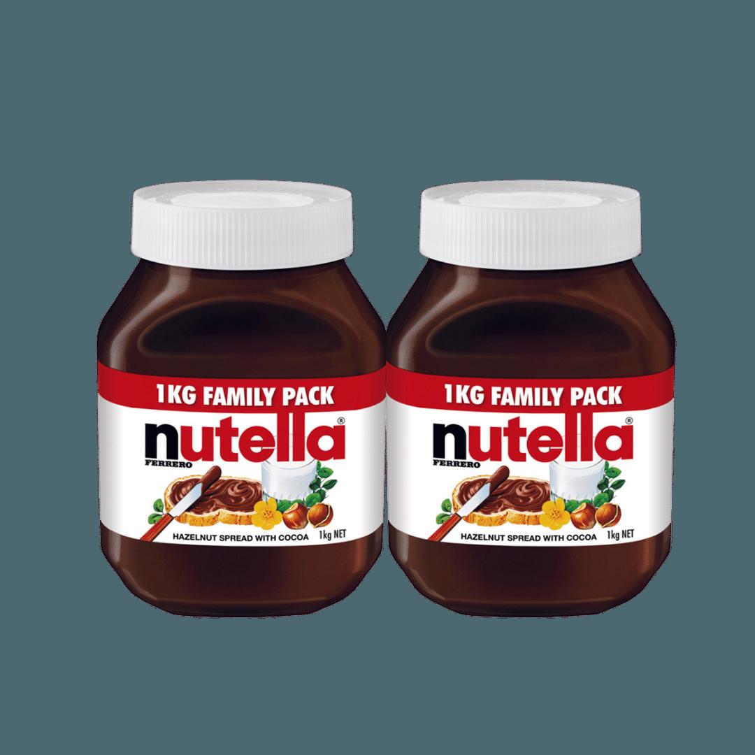 NutellaHazelnutSpread2X1Kg