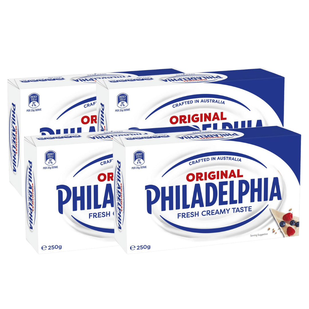 PhiladelphiaCreamCheese4X250G
