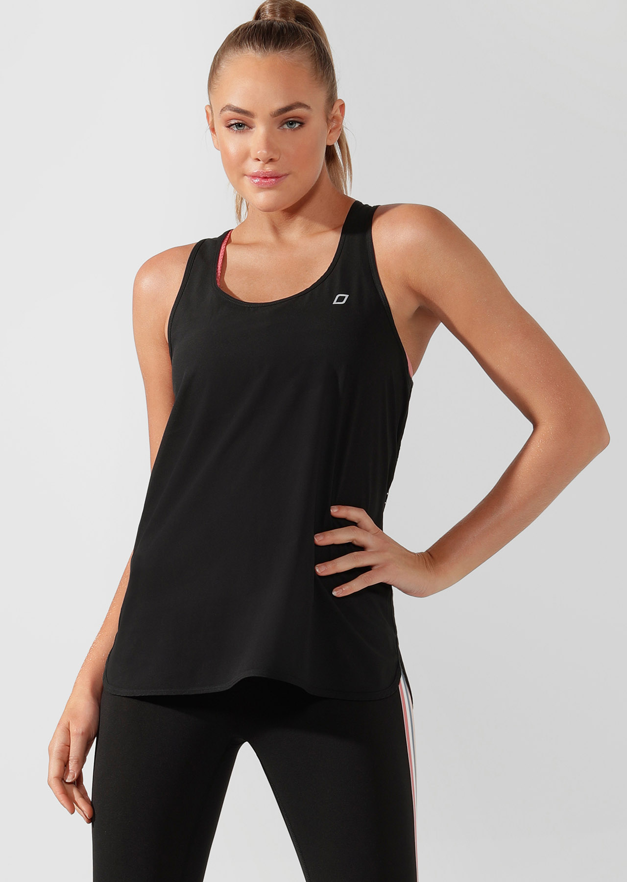 ultra cool excel tank black 111956 blk 1 - Sports & Fitness