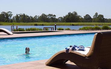 Stay in a 1 or 2 Bedroom Premier Villa at Oaks Cypress Lakes Resort