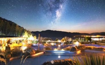 Hot Pools and Star Gazing at Tekapo Springs