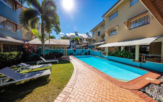 Enjoy 3, 5 or 7 Nights in a Premiere Room or Studio Suite at Cairns Queens Court Hotel