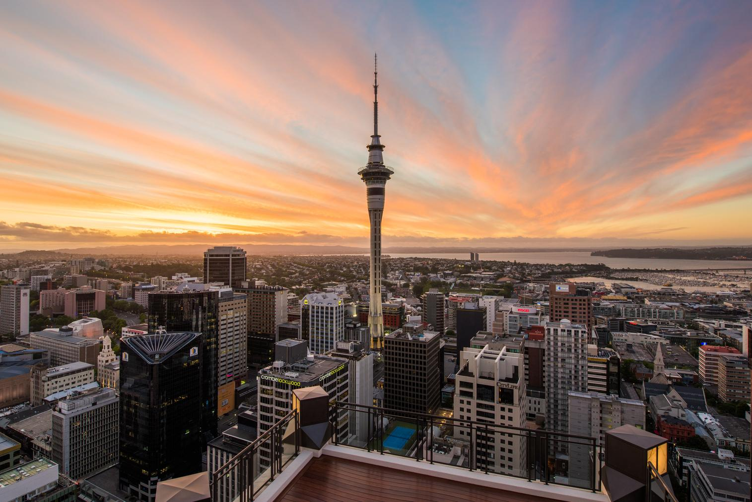 Discover the Best Views of Auckland from the Sky Tower
