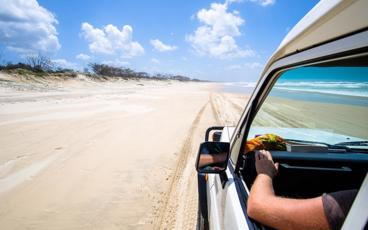 Enjoy a 3 Day/2 Night Self-drive 4WD Fraser Island Package