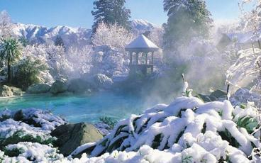 Thermal Pools and Day Spa Within an Idyllic Alpine Setting