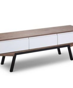 Emerson Scandinavian Entertainment TV Unit - Walnut