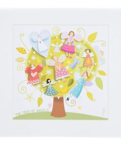 Marja Leena Tree Of Angels Wall Art