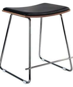 Merriam Faux Leather Stool