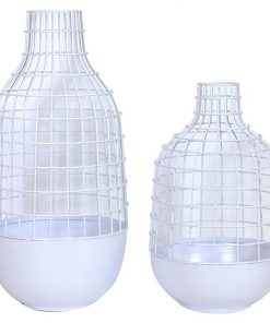 Wire Vase (Set of 2)