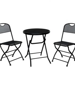 Bobby Foldable 3-Piece Bistro Set