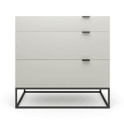 Tallinn Chest of Drawers - High Gloss Avorio