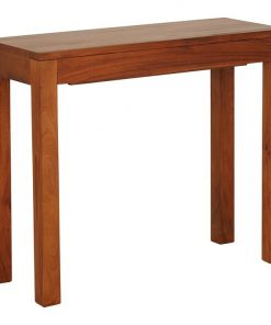 Hague Pecan Console Table