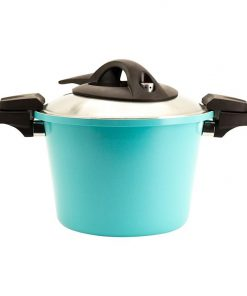 Retro Induction Low Pressure Deep Casserole with Stainless Lid