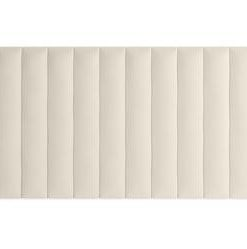 Megan King Size Bed Head Wide - Classic Cream