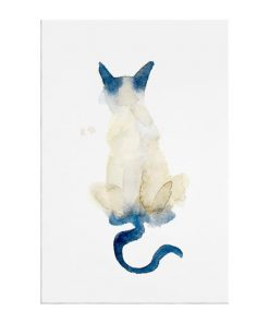The Porcelain Cat Print Canvas Medium
