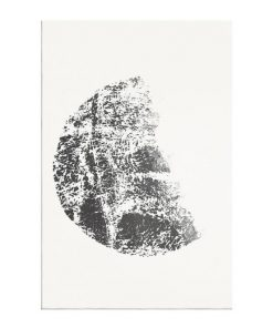The Lunar Print Canvas Small Gibbous