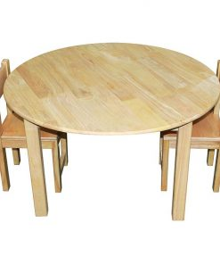 Carson Round Kids Table & Chair Set