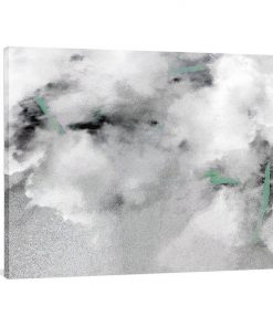 Cloudy Bear Canvas Print