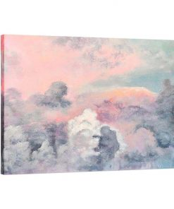 A Natural Force Painted Canvas Wall Art