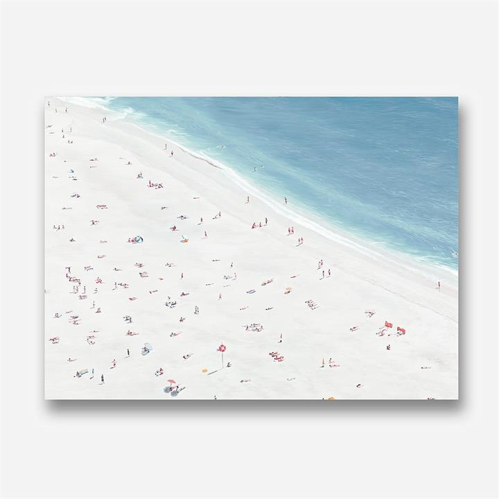 Sunbathers II Canvas Art