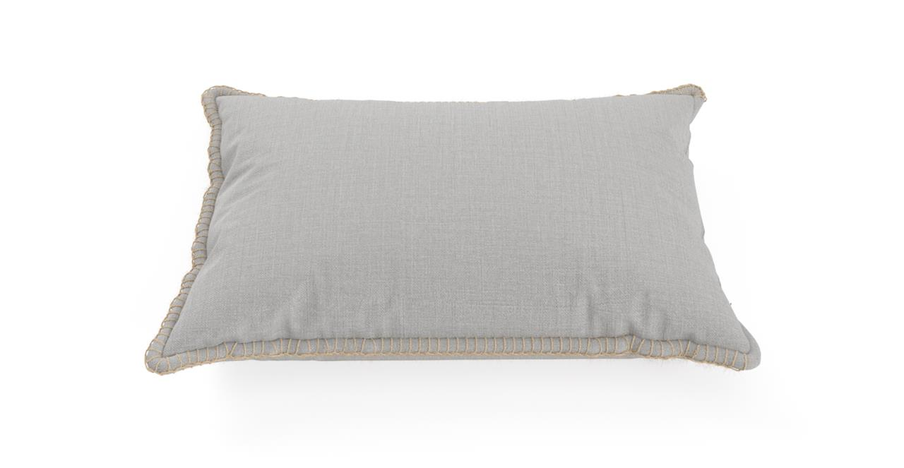 Filt Rectangular Cushion 60 x 40cm Cloud Grey