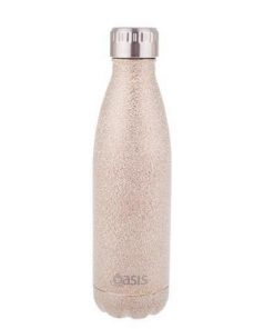 Oasis Stainless Steel Insulated Drink Bottle 500ml Champagne