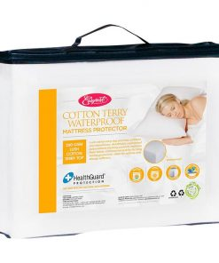 Fitted Cotton Terry Waterproof Mattress Protector