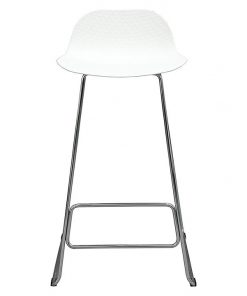 Chen Zhiyi Net Chrome Bar Stool