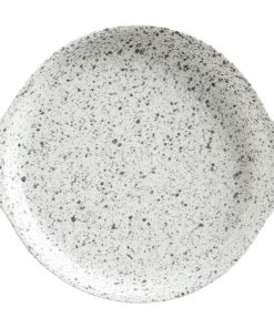 Caviar Speckle Plate with Handle