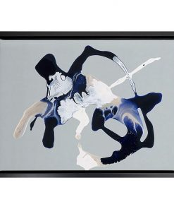 Blue Velvet Framed Canvas Print