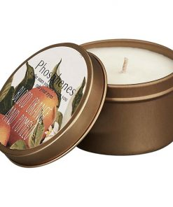 Soy Wax Candle in Brass Travel Tin