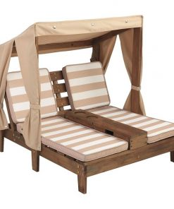 Kids' Double Chaise Outdoor Lounge