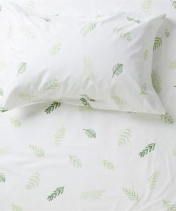 Leaf Me Breathless Fitted Sheet