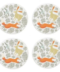 Hill & Dale Coaster (Set of 4)