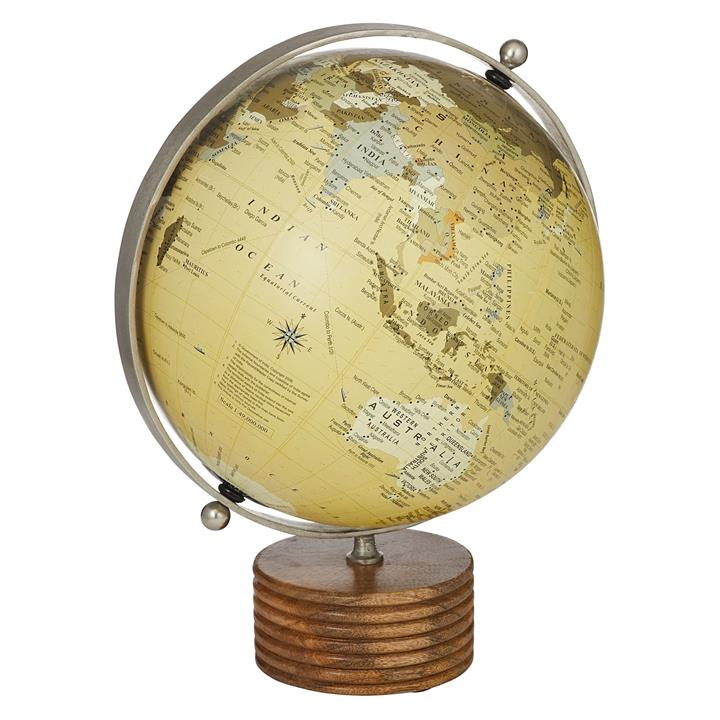 As the World Turns Globe (Set of 2)