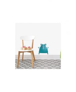 Blue Long Nosed Monster Wall Decal