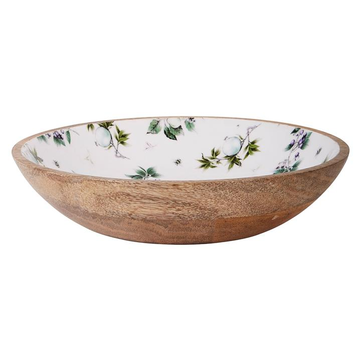 Fruits & Bugs Serving Bowl