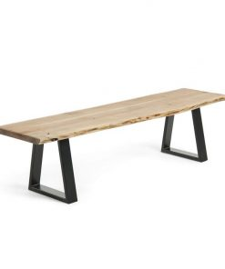 Sono Solid Wattle Timber Bench Seat - Natural by Interior Secrets - Pay with zipMoney