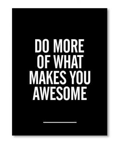 What Makes You Awesome Wall Art