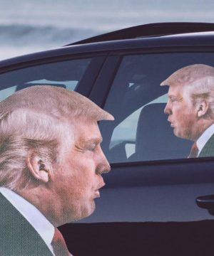 `Ride With` Novelty Car Window Decals
