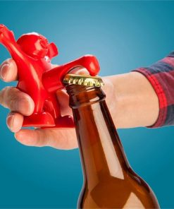`Happy Man` Bottle Opener - Open Bottles with his Manhood!