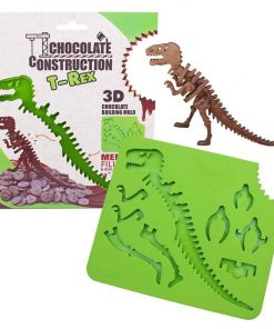 Build A 3D Chocolate T-Rex Skeleton BPA Free Silicone Mould