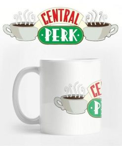 `Friends` Central Perk Logo Coffee Mug | Official Friends Collectable!