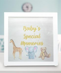Baby`s Special Memories Frame Box With Baby Animals